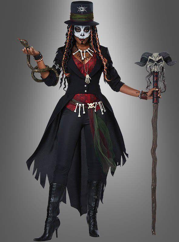 Voodoo Zauberin Kostüm für Damen #halloweencostumeswomen