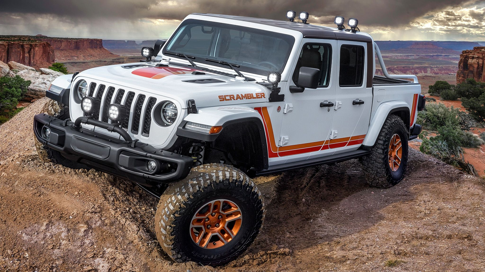 Jeep Hellcat Will Fit In The Gladatin But We Won T Jeep Gladiator Easter Jeep Safari Jeep Concept