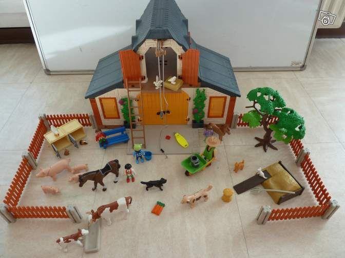 ferme 3072 playmobil jeux jouets bouches du rh ne. Black Bedroom Furniture Sets. Home Design Ideas