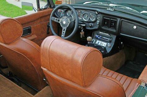 1972 mgb classic car interior 1970s classic cars - Auto interior restoration products ...