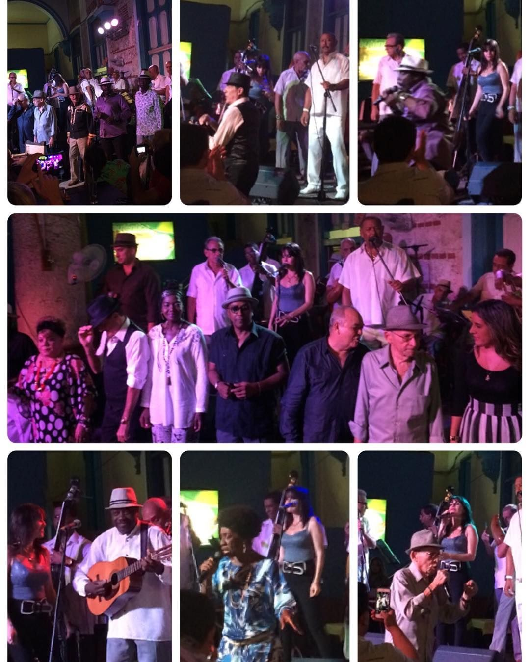 Koncert Buena Vista Social Club Havana Cuba #cuba #havana #travel