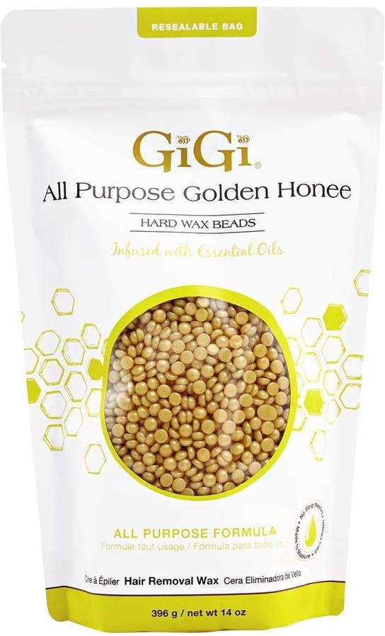 Gigi 99999 All Purpose Golden Honee Hard Wax Beads