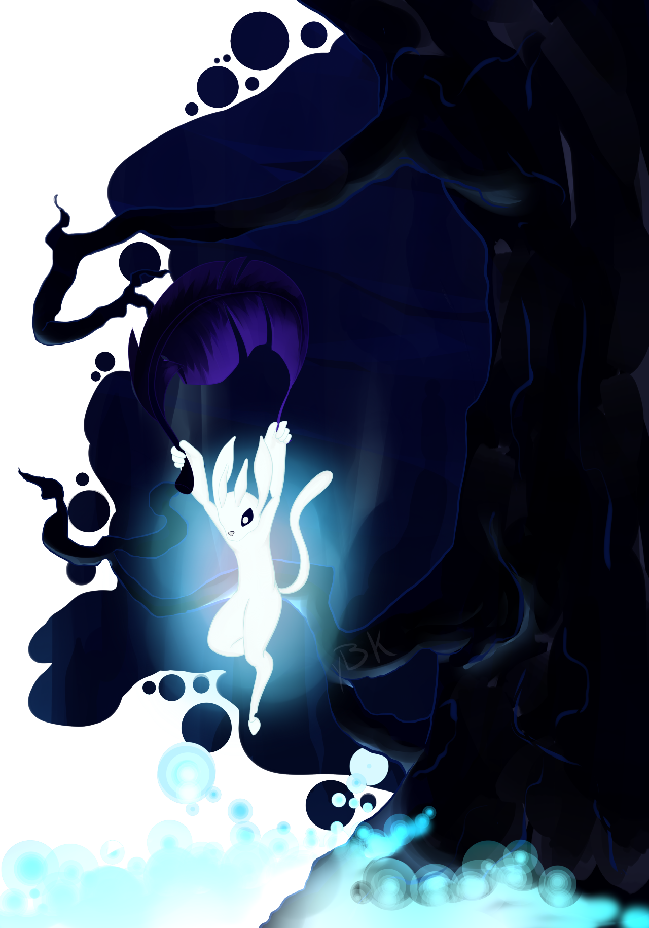Ori And The Blind Forest Fan Art By Tumblr User Yourartistickitten