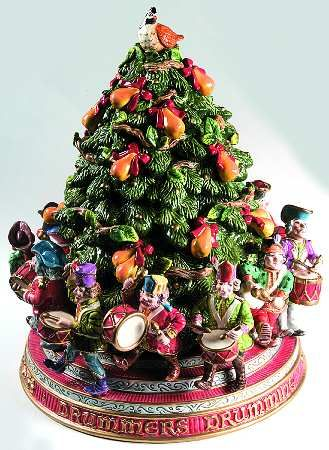 Cookie Jar Twelve Days of Christmas by Fitz & Floyd