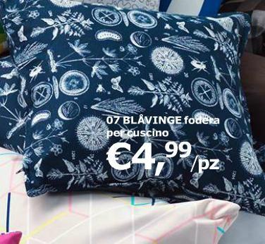 Cuscino blu
