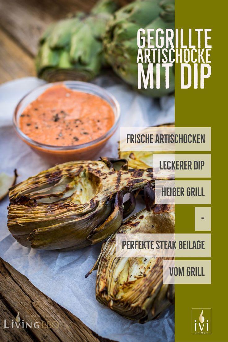 gegrillte artischocken | rezept | beilagen grillen | grillrezepte