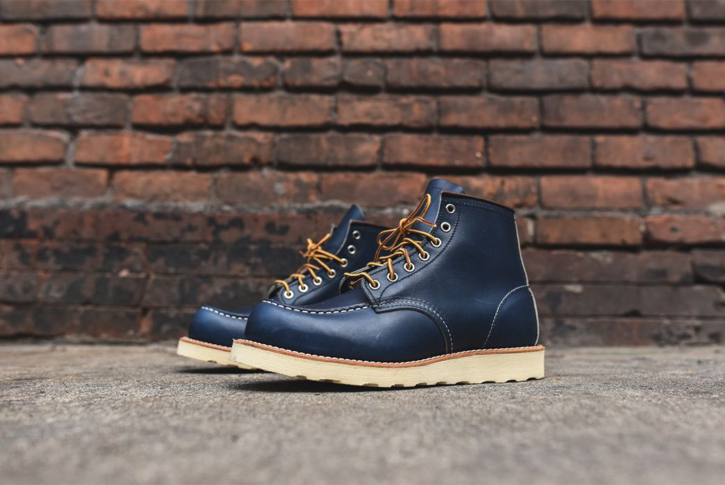 Red Wing 8882 Indigo Portage Leather