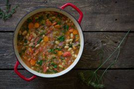 Ribollita Soup - #ReImagineDieting Sign up for more weight loss recipes like this at fullplateliving.org