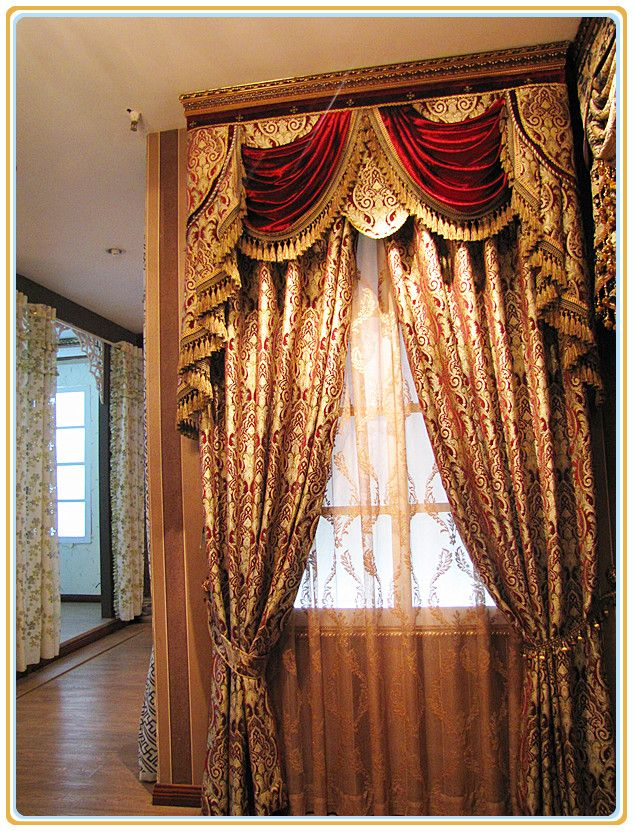 Free Shipping D Angleterre Clic Royal Quality Curtain Incurtains From Home Garden On