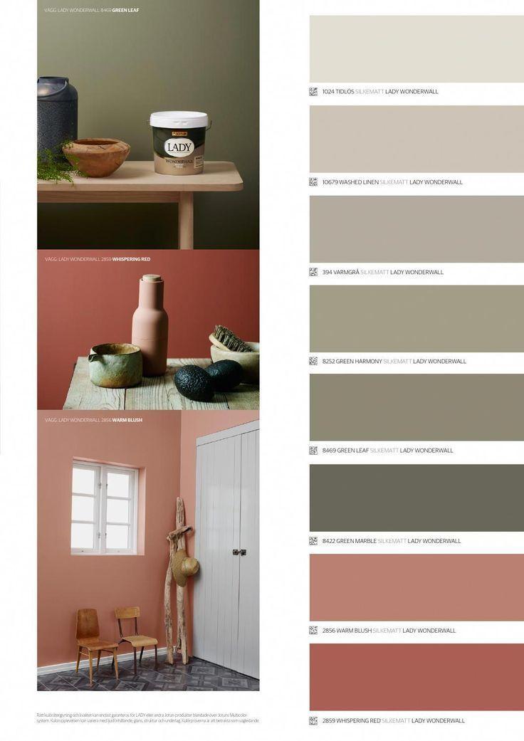Lady Carta De Colores 2016 Listados Achats Couleurs Maison Peinture Interieur Maison Deco Chambre