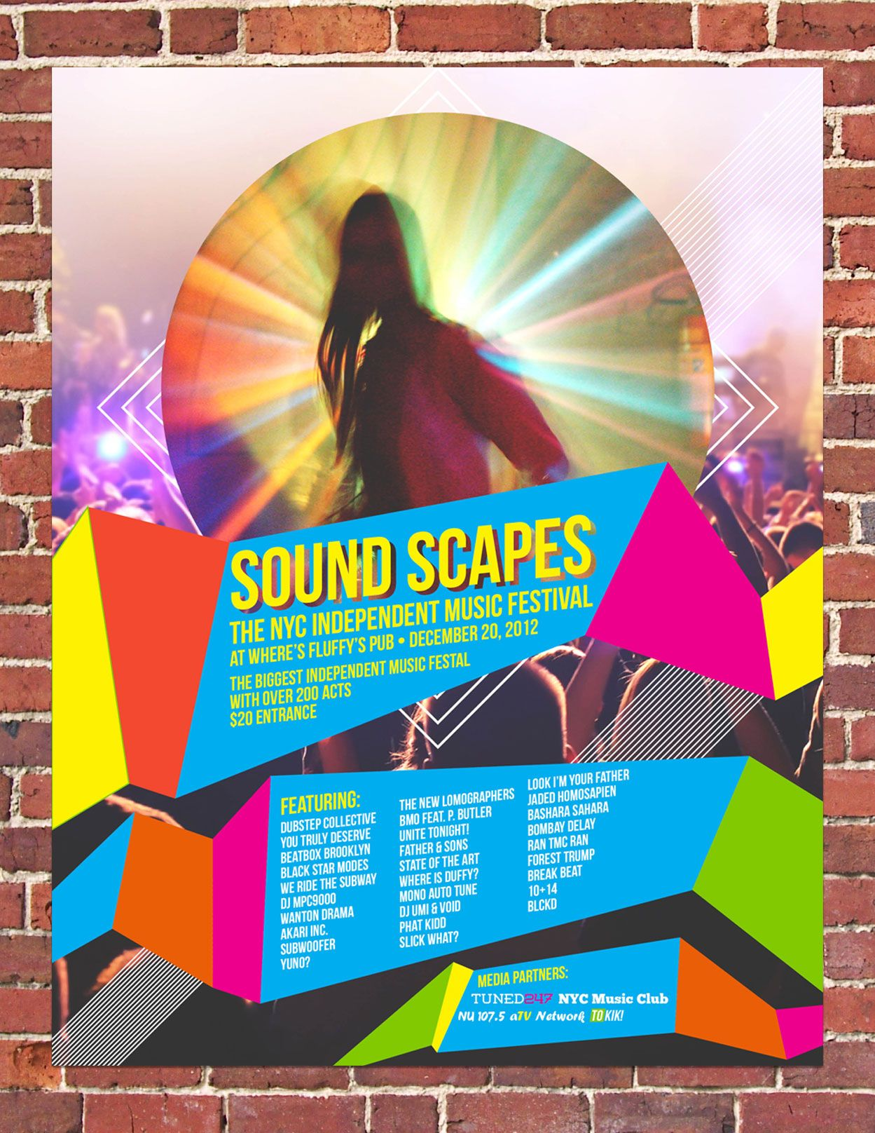 How To Make A Simple Music Festival Poster in Adobe InDesign