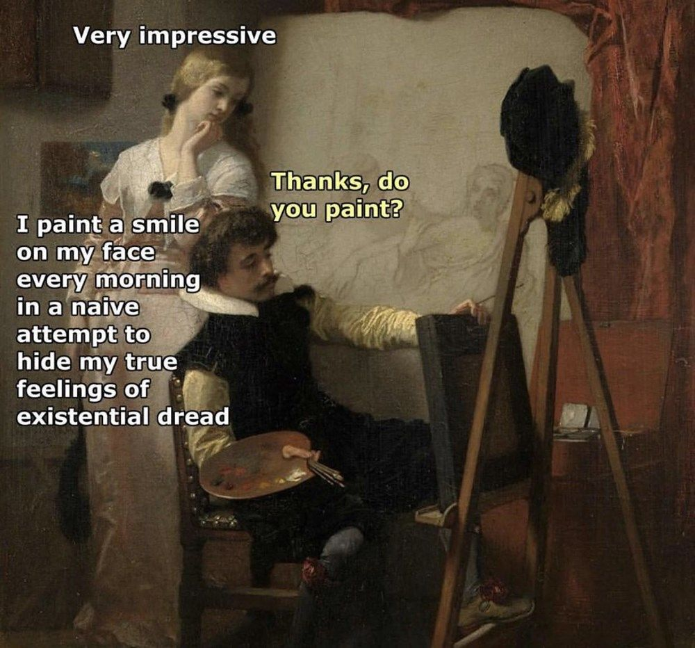 19 Classical Art Memes That Are Way Better Than Walking Through A Museum
