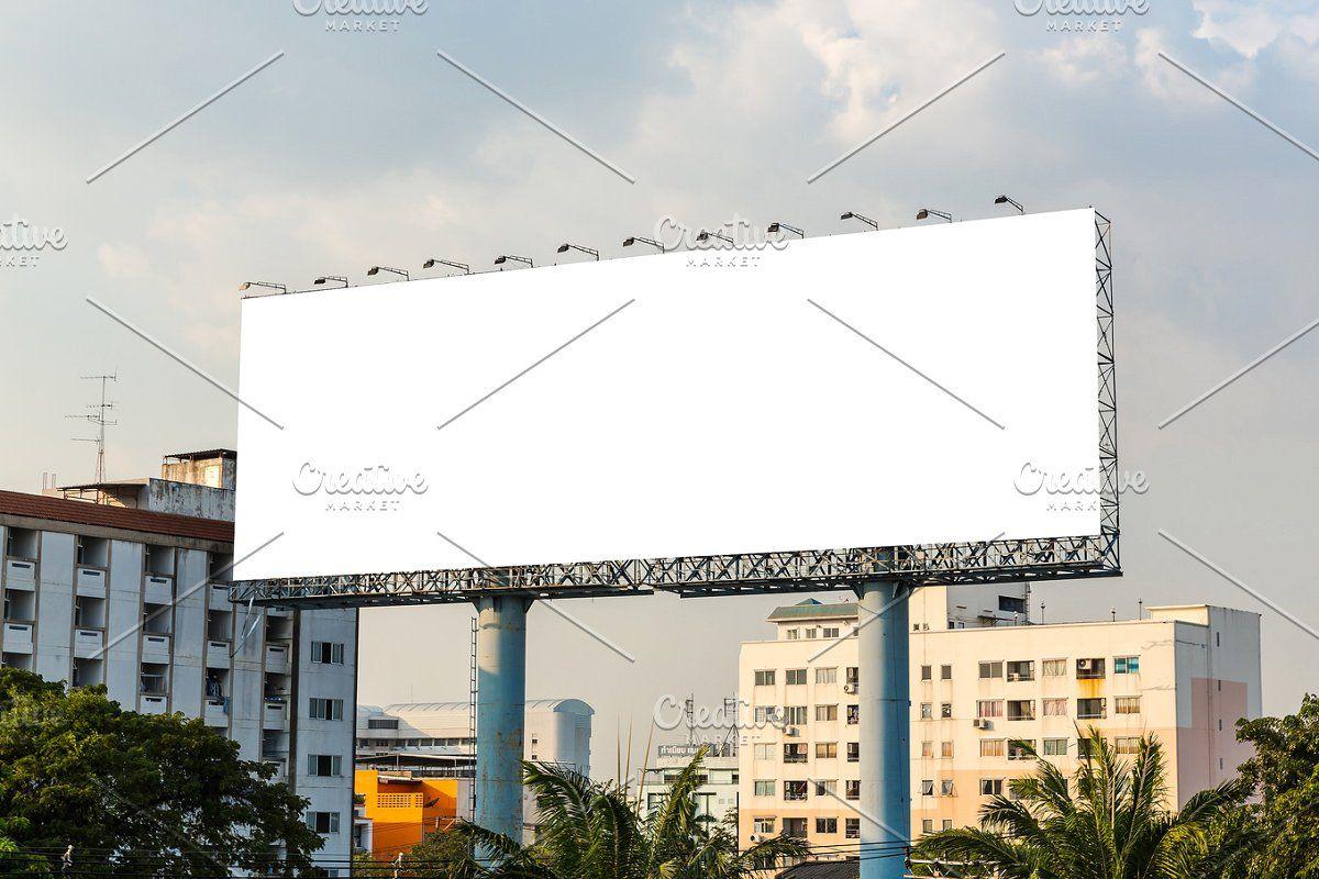 Blank Billboard Billboard Background Image