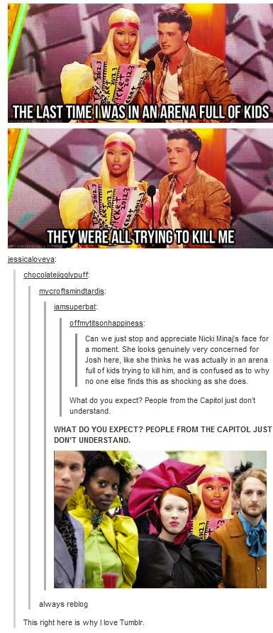 18 Funny Things About the Hunger Games Tumblr Had To Say | Funny All The Time