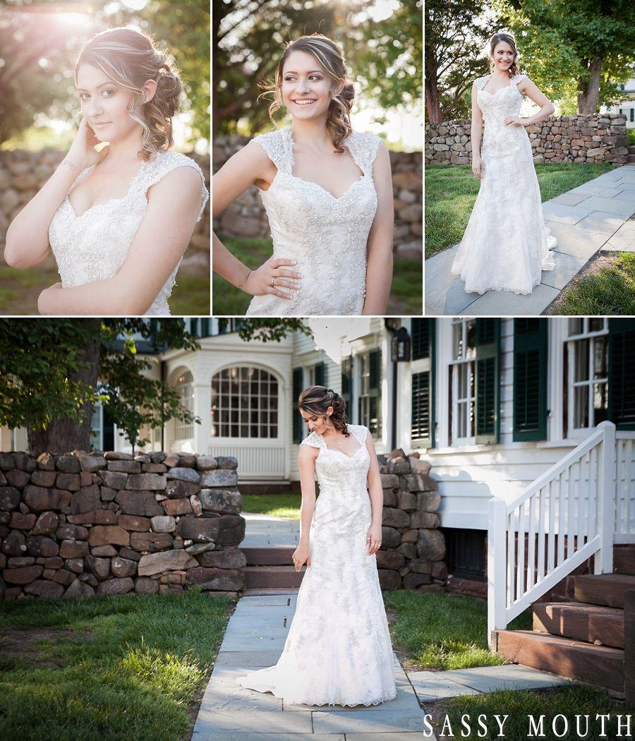 Wedding Entourage Hairstyle: Classic Bride Country Estate Wedding Bridal Fashion
