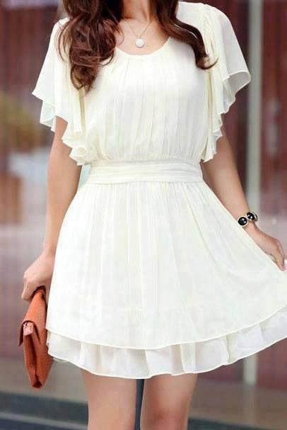 White dress | moni | Pinterest