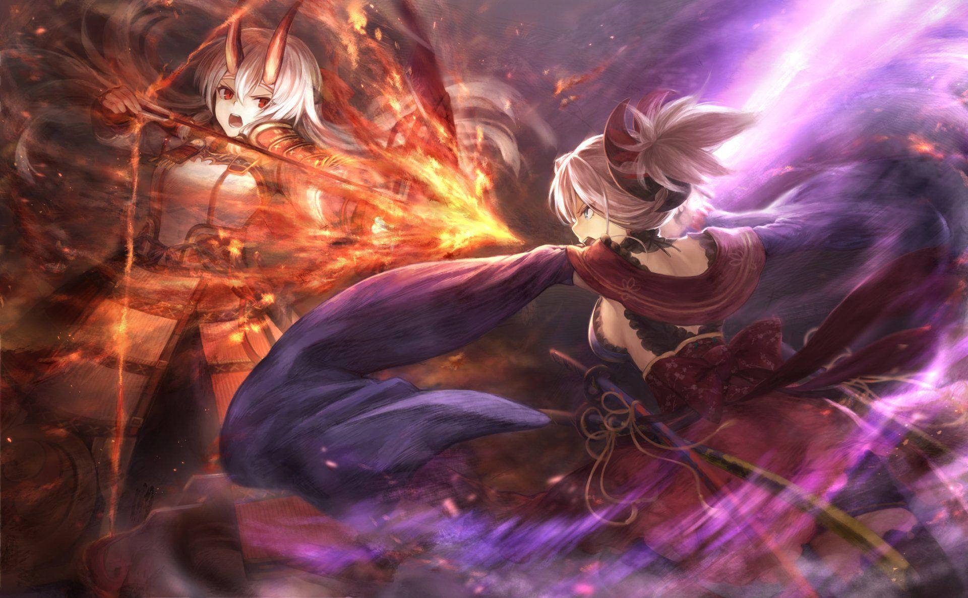 Anime Fate Grand Order Tomoe Gozen Fate Grand Order Miyamoto Musashi Wallpaper Miyamoto Musashi Musashi Anime Fate grand order wallpaper