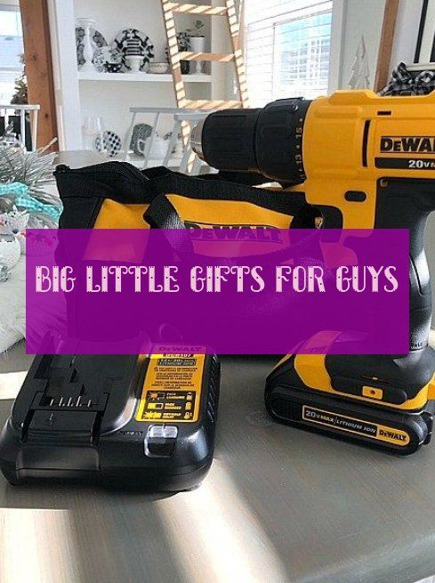 big little gifts for guys