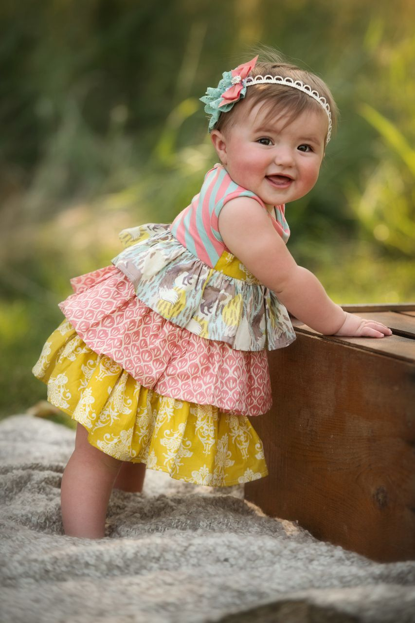 One good thread persnickety clothing infant paisley dress