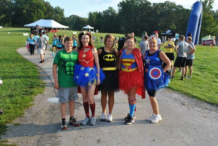 Mud Run Costumes & Superhero | Race Costumes! | Pinterest | Running costumes Marathons ...