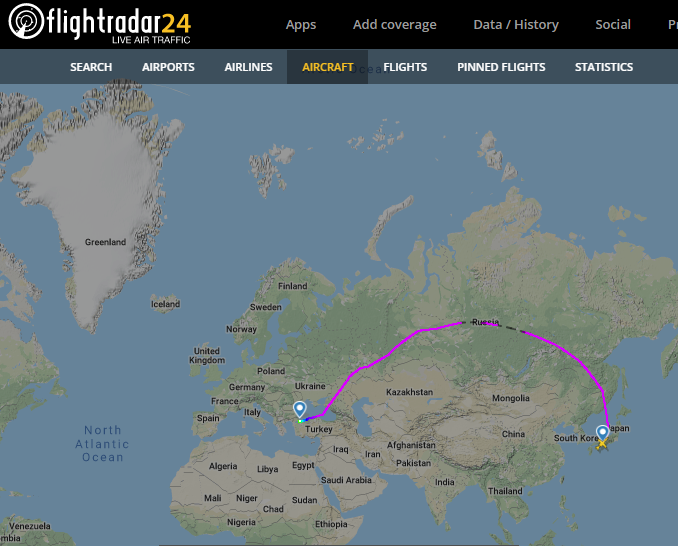 Flightradar 24 Ghosn The Ghost In 2020 Poland Germany Italy Spain Aircraft