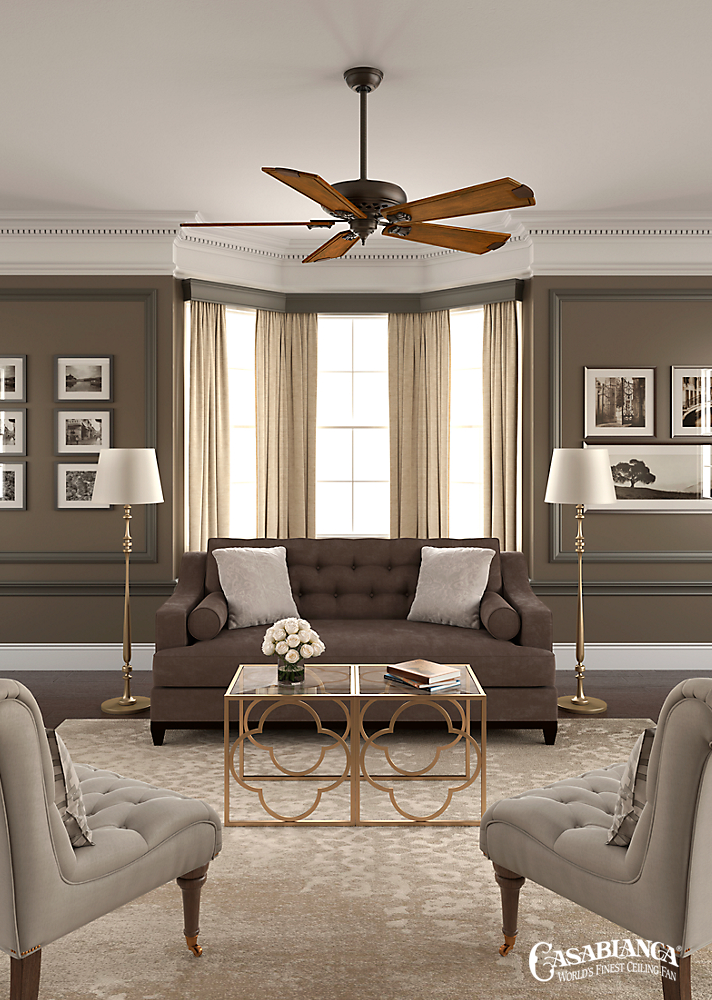 A 60 Bladespan Makes This Edition Of The Casablanca Fellini Ceiling Fan Ideal For Wide Variety Rooms Hand Carved Wood Blades Enrich Fans
