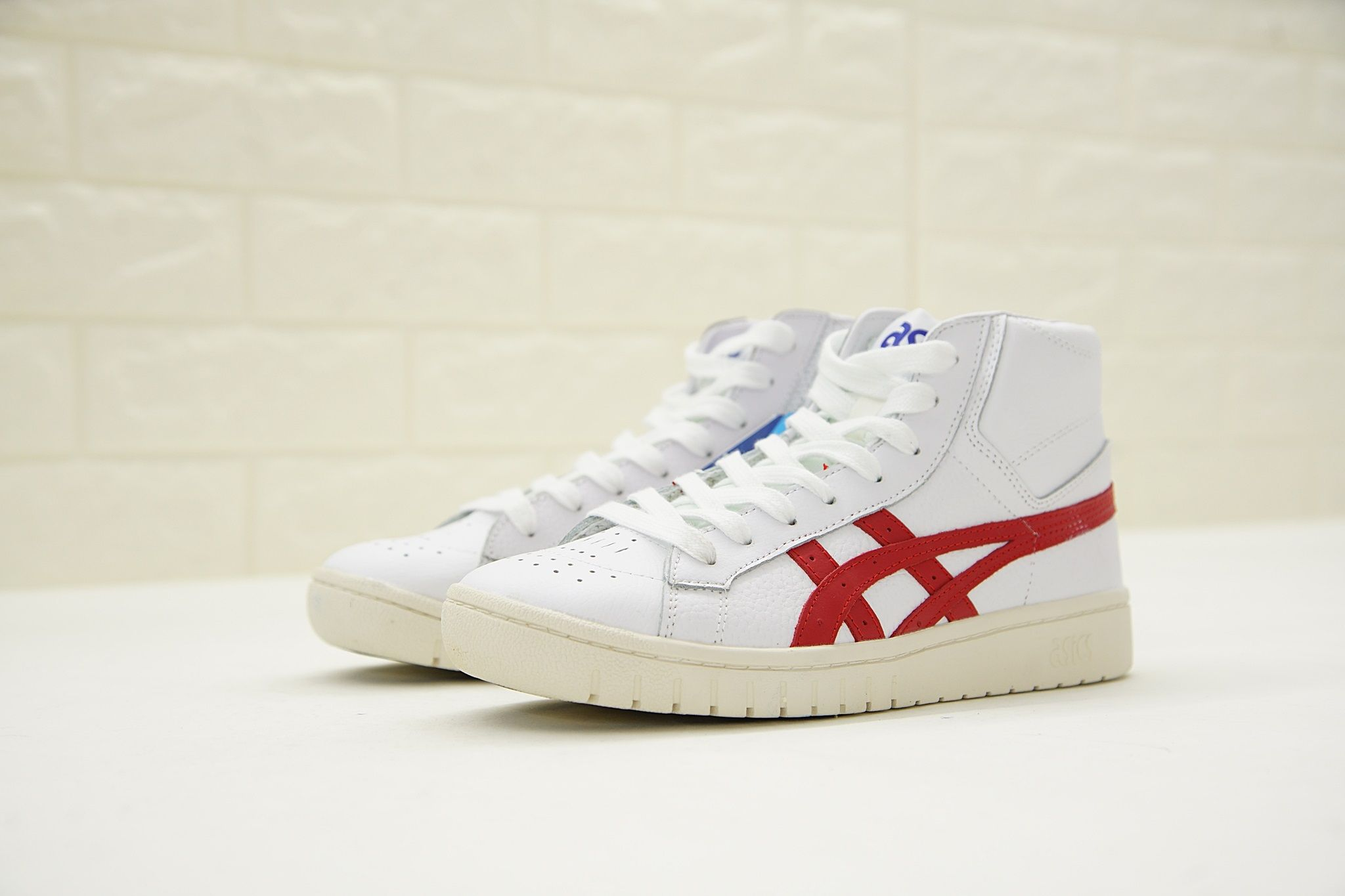 ASICS TIGER GEL PTG MT MID WHITE RED HL7R4 0123 | ASICS