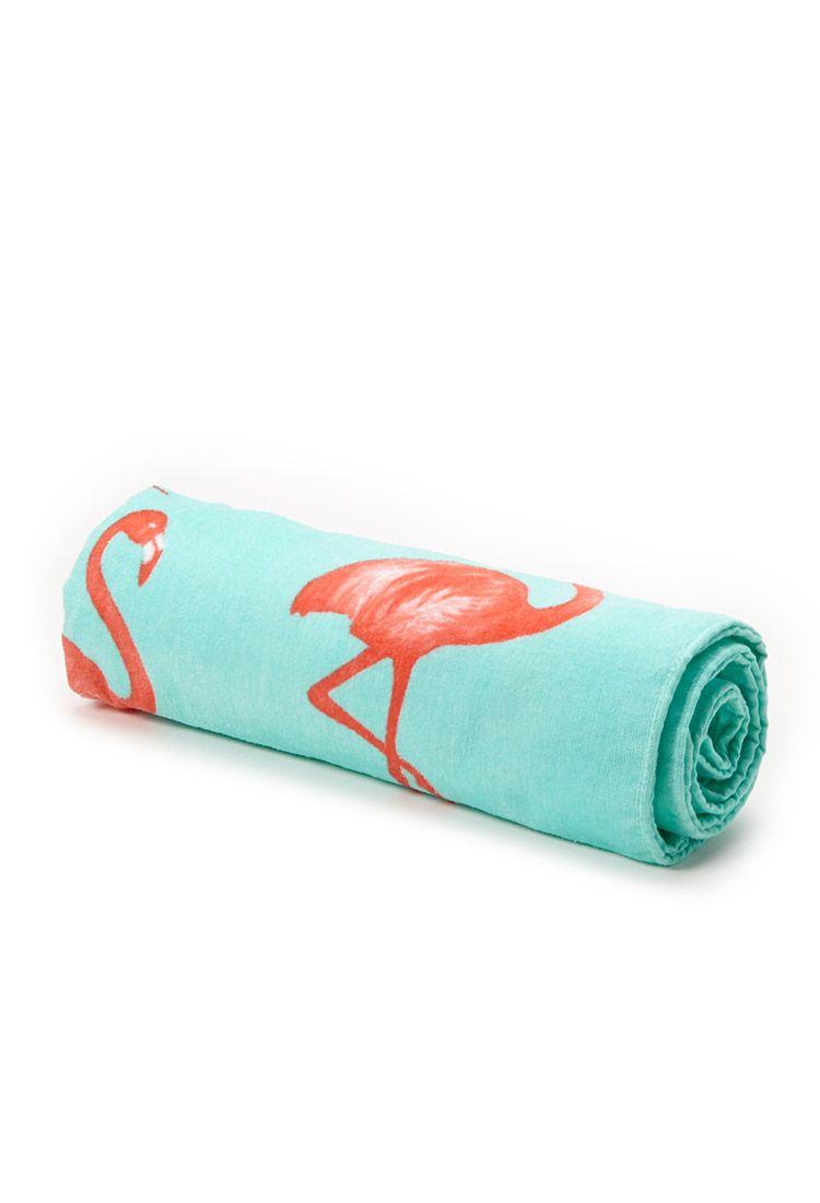 Flamingo Beach Towel   FOREVER21 #F21Swim #SummerForever