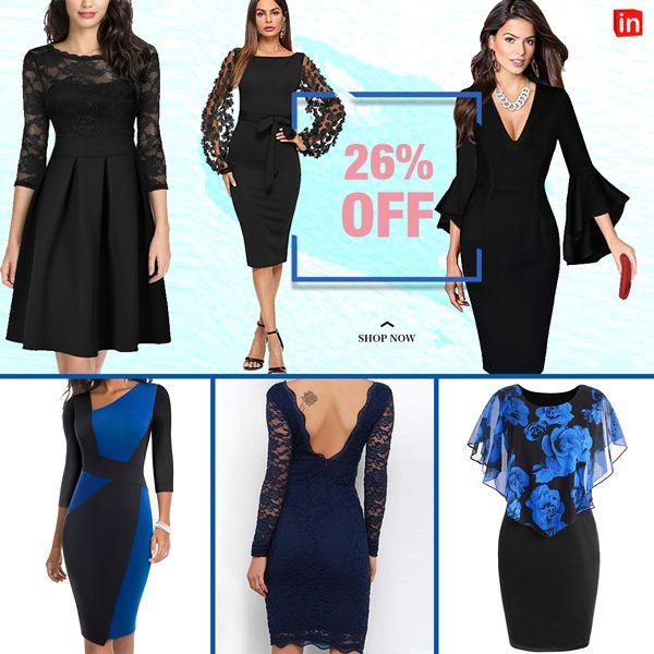 Women's Floral Plus Size Out Elegant Skinny Dress