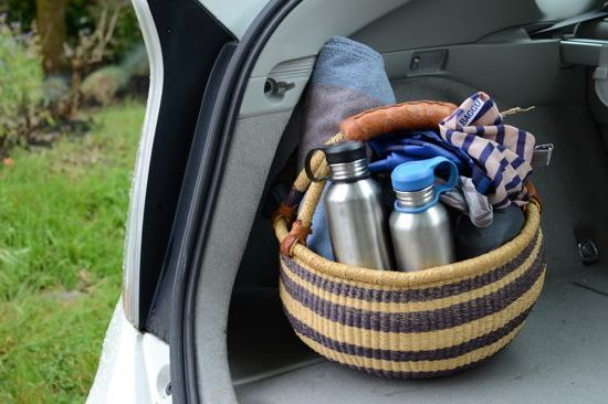 Making a summer adventure kit for the car