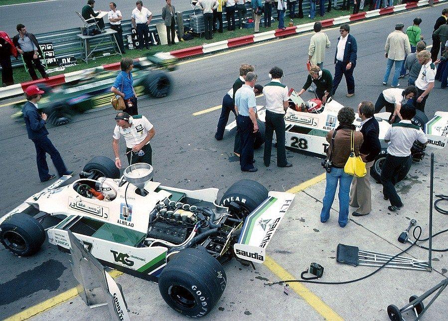 Alan Stanley Jones Aus Albilad Saudia Racing Team Williams Fw07 Ford Cosworth Dfv 3 0 V8 Gianclaudio Giuseppe Clay R Clay Regazzoni Williams F1 Racing