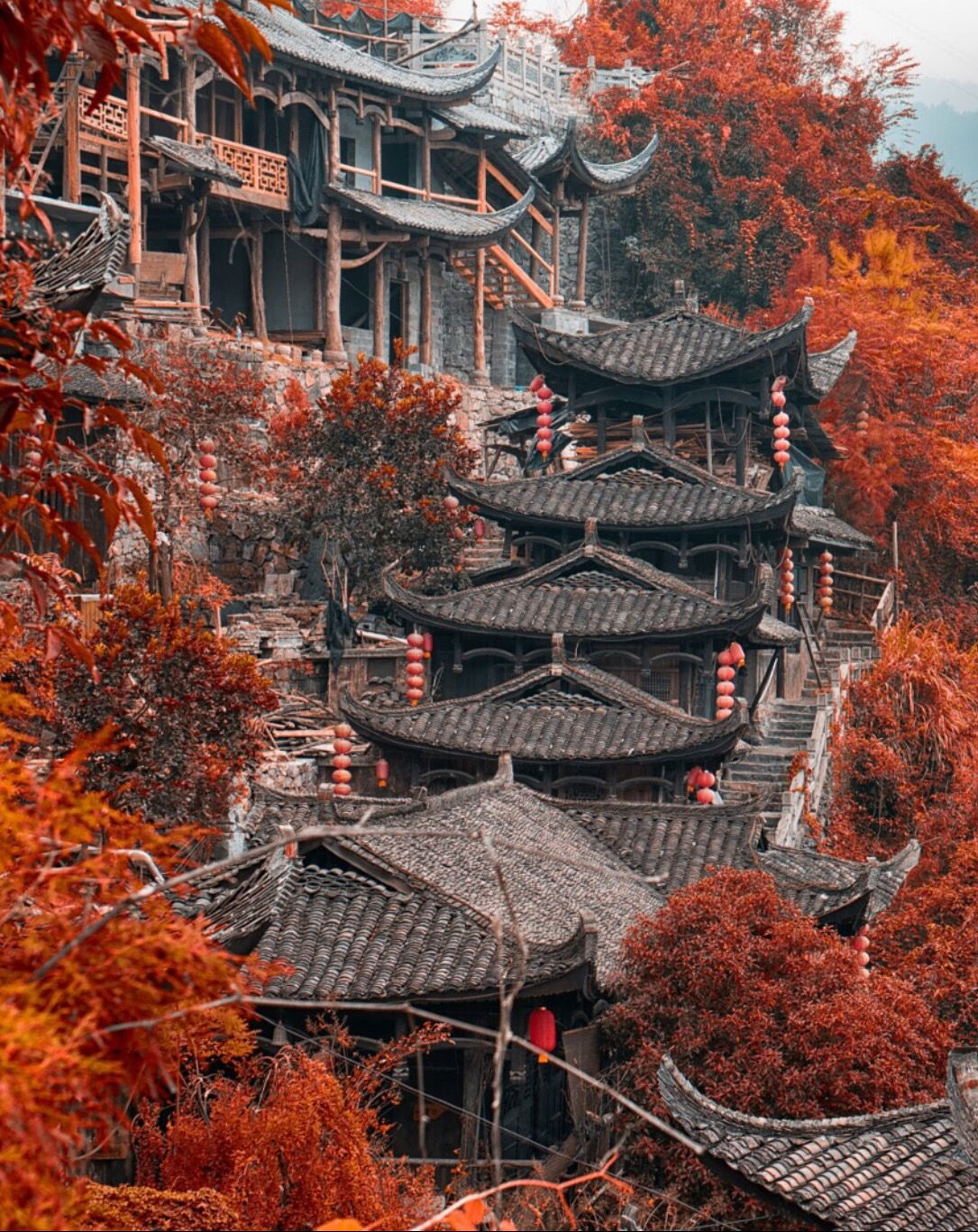 Furon town Hunan China by enrico barletta 500px Pinteres