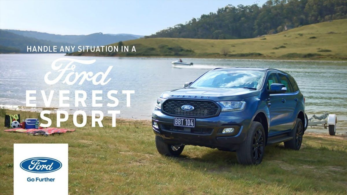 85 All New 2020 Ford Everest Exterior In 2020 Ford Go Further