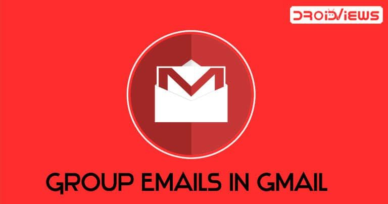 How To Create Group Emails In Gmail Without Any Extension Droidviews Gmail App Drawer Volkswagen Logo