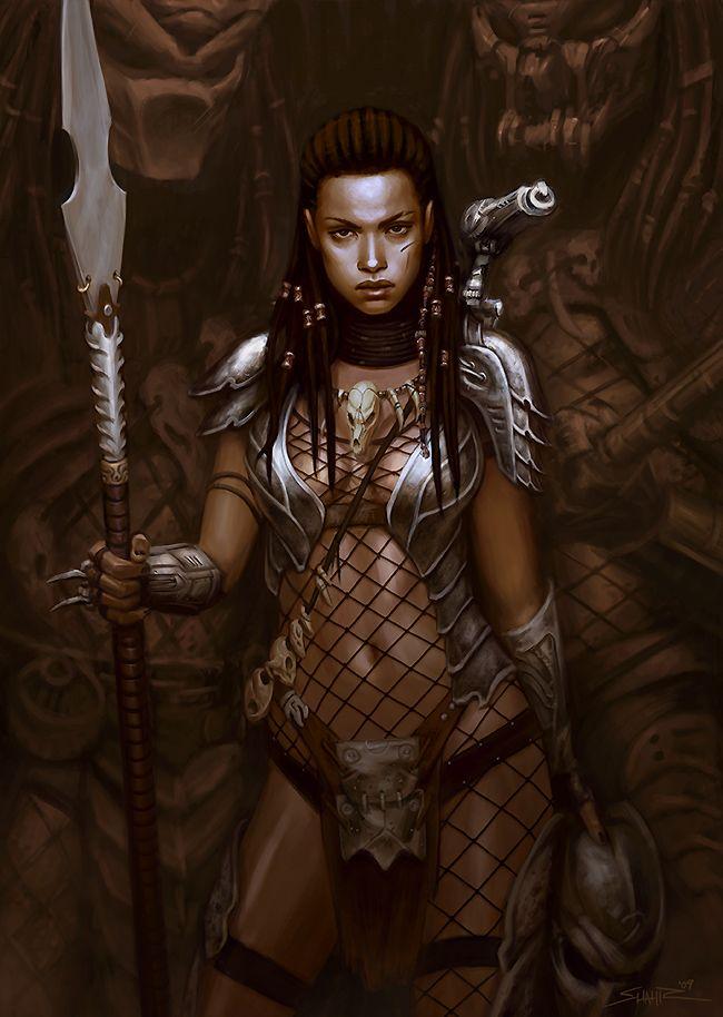 Pin By Faya Youssef On My Favorites Warrior Girl Predator