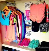 43 Trendy Fitness Clothes Organization Workout Gear #fitness #clothes#design #model #dress #shoes #h...