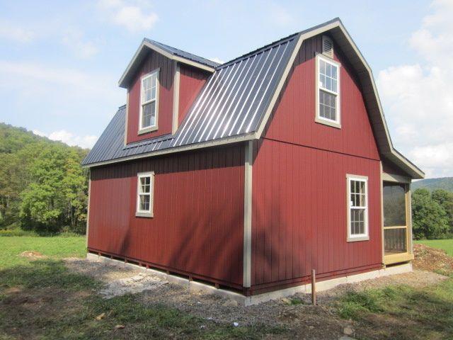 Cobleskill NY Amish Built Storage Sheds U0026 Cabins   Amish Barn Company