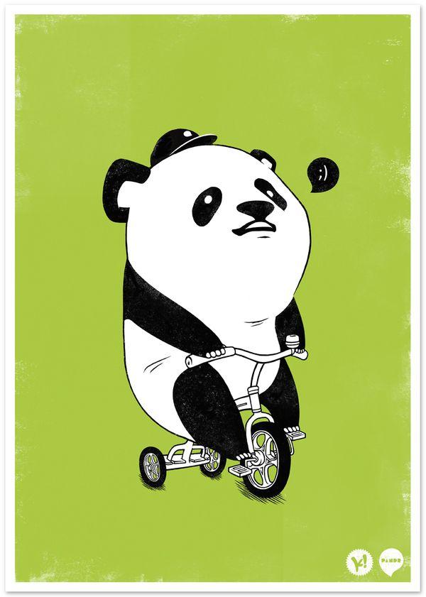 PANDR Poster by Kristian Douglas, via Behance