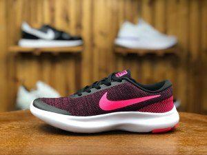391c89d48fe8e Womens Nike Flex Experience Rn 7 Black Racer Pink 908996 006 Running Shoes