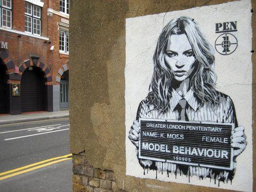 Banksy's Kate Moss   Banksy art, Banksy, Street art artists