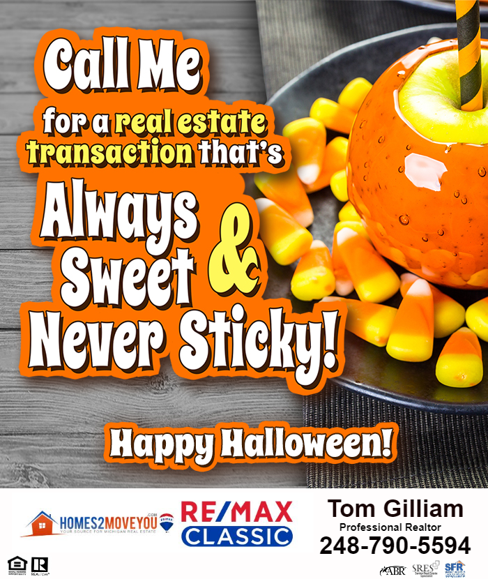 My Real Estate Services Are Sweet And Never Sticky Give Me A Call Sweet Sticky Halloween Ho Real Estate Marketing Real Estate Services Real Estate Leads