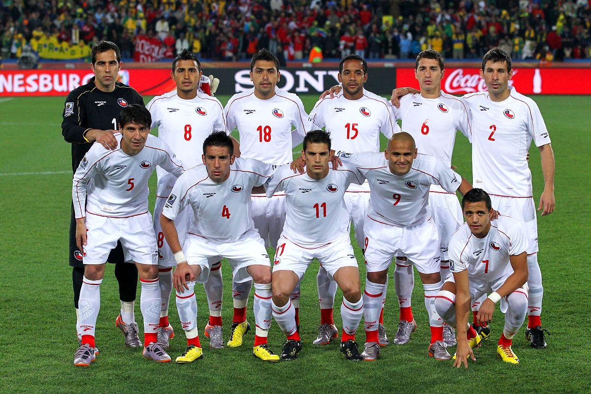 Chile - Brasil, Sudáfrica 2010 | Seleccion chilena de futbol ...