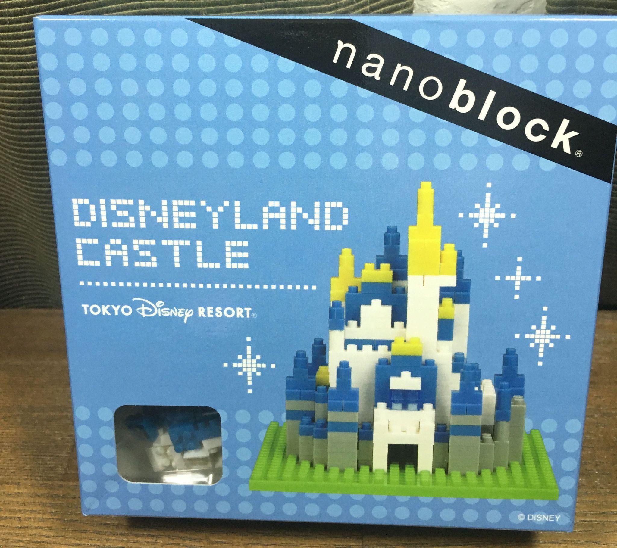 Tokyo Disneyland Resort nano block 2015 Christmas Mickey Mouse nanoblock