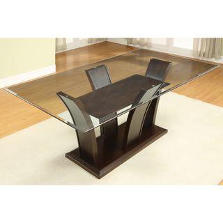 Rectangular Contemporary Glass Dinning Table Rectangular Glass