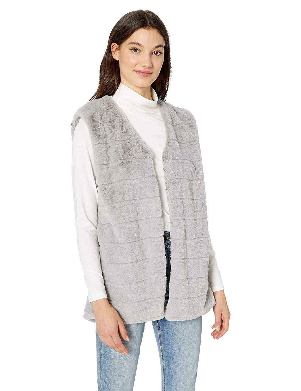 Echo Women s Faux Fur Vest at Amazon Women s Coats Shop Our magazine s  young and hip interns assure me that these sumptuous 9c14d434d9