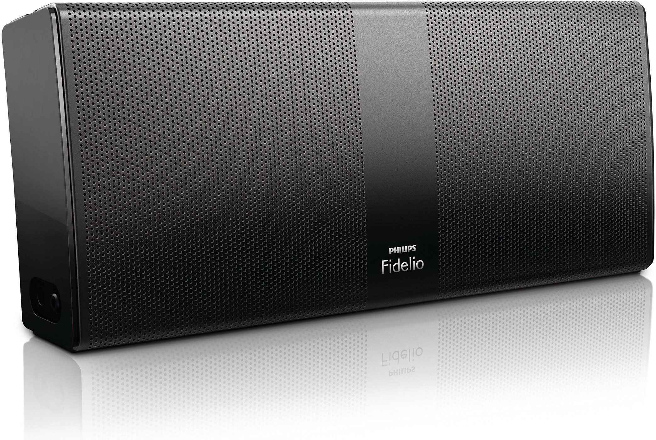 Philips Fidelio P8blk 37 Bluetooth Portable Speaker Black Quality Drivers Deliver Natural S Bluetooth Speakers Portable Wireless Speakers Portable Bluetooth
