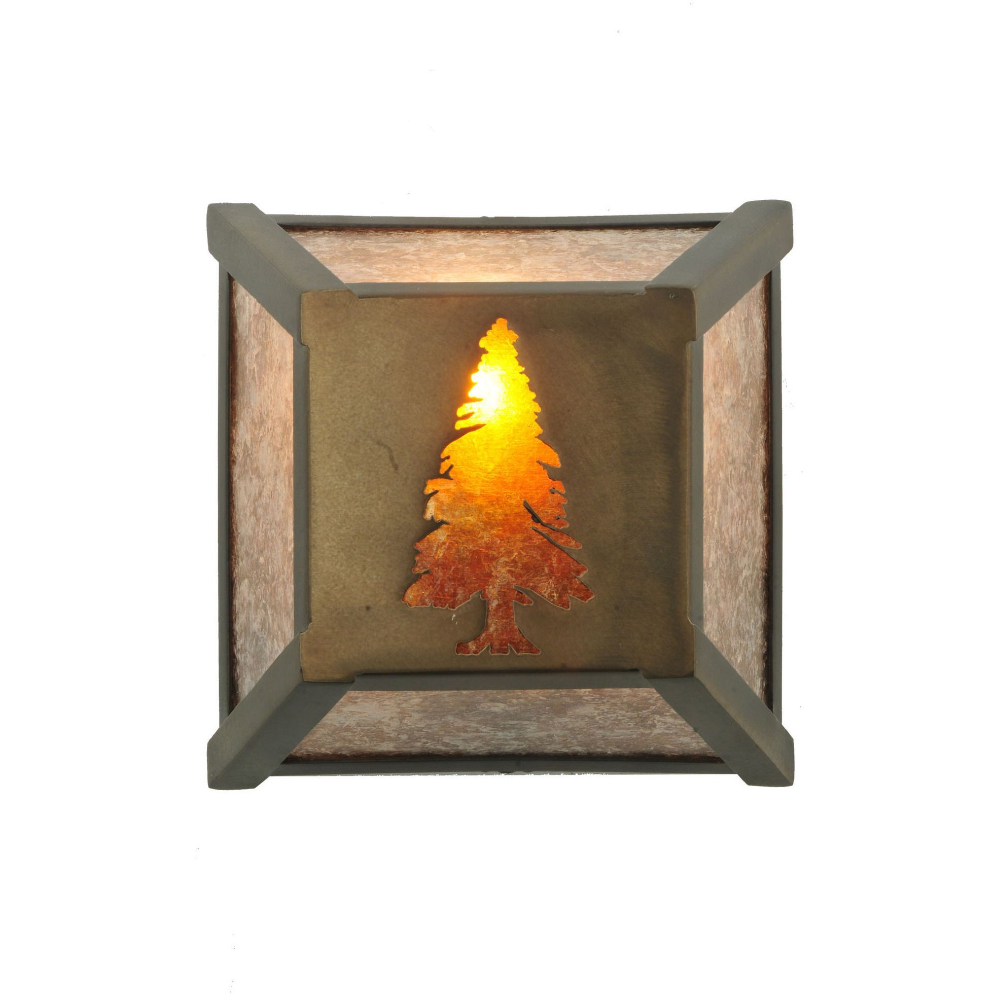 inch sq tall pine wall sconce custom made products natural