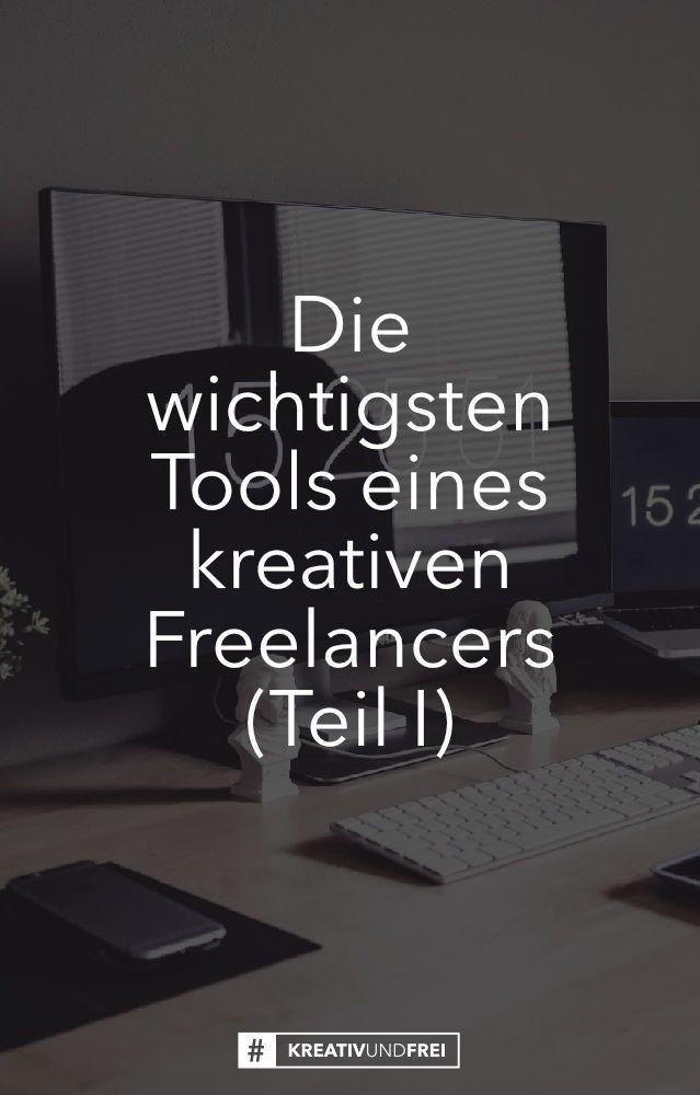 Diese Tools sollst du als kreativer Freelancer unbedingt nutzen  Die wichtigsten Tools eines kreativen Freelancers http://kreativundfrei.de/die-wichtigsten-tools-eines-kreativen-freelancers-teil-1/