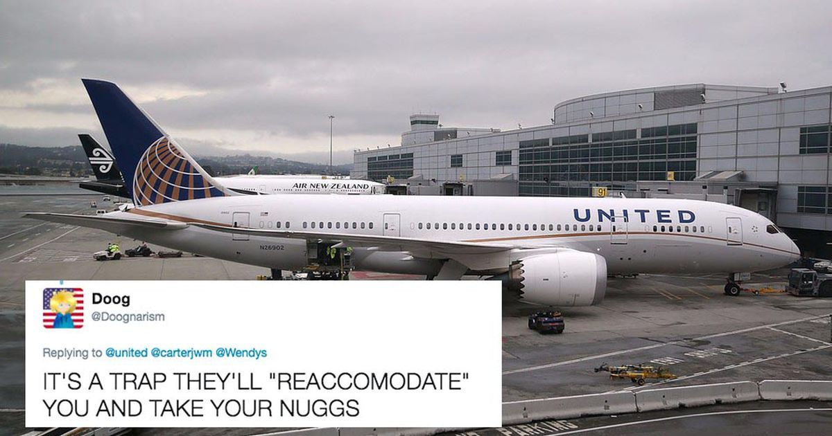 #fun #deals  United tries to join in with viral nugget tweet,…  |Subscribe to see entertaining videos! bit.ly/2n9c2sc @DNR_CREW @HyperRTs
