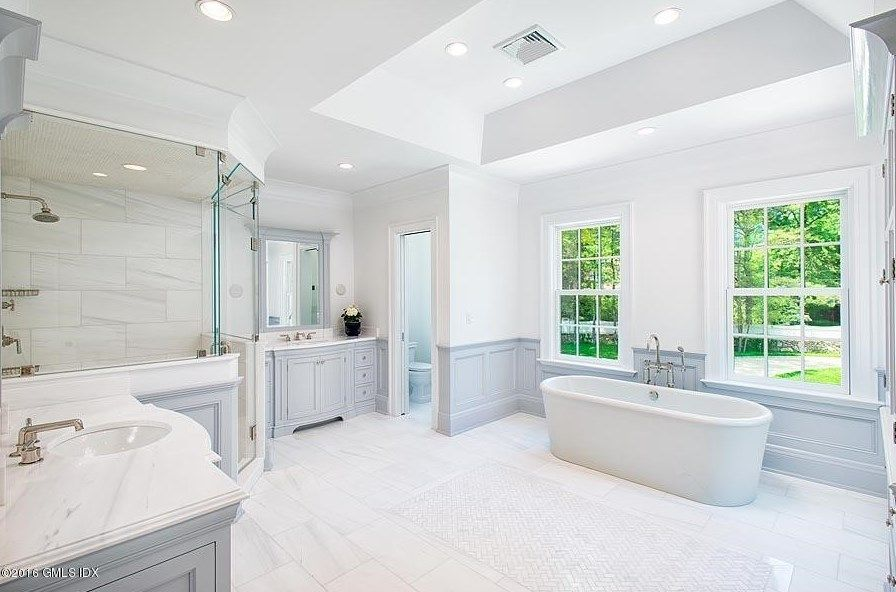 1 Doverton Drive, Greenwich, CT 06831 | Mansion bathrooms ...